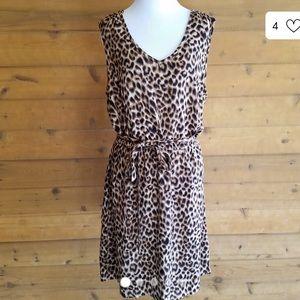 Lucky Brand leopard print dress